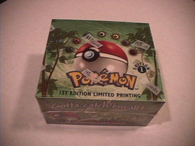 Pokemon Jungle 1st Edition FACTORY SEALED Booster Box 36 Packs- Nice Box!