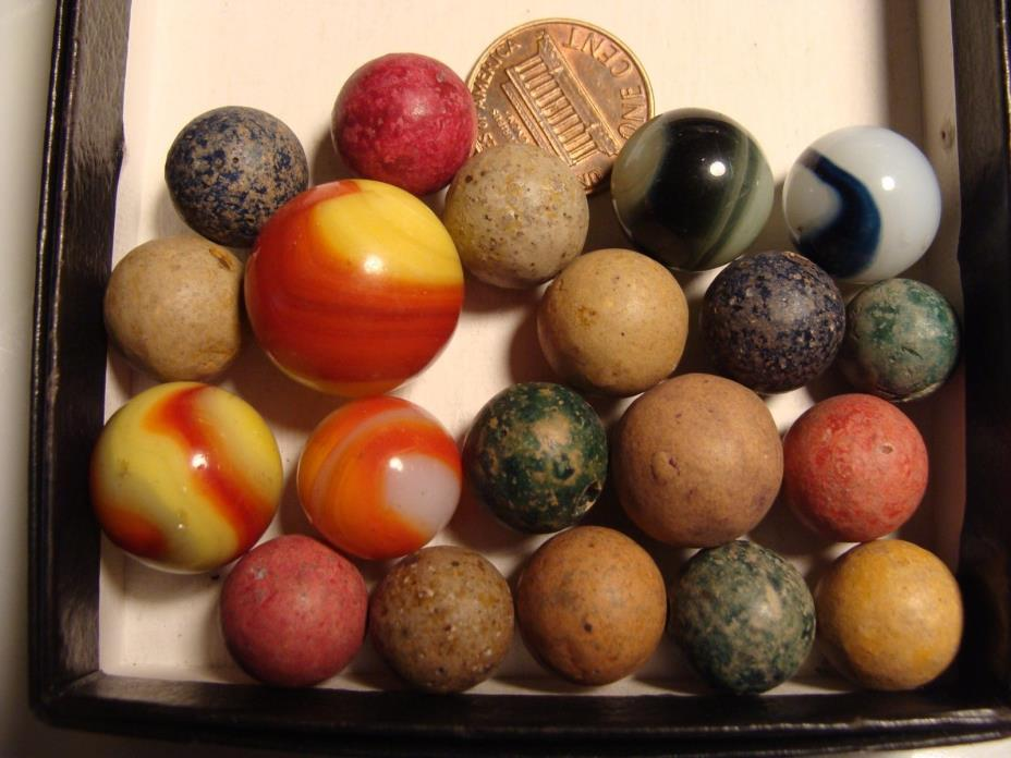 Old Clay Marbles For Sale Classifieds