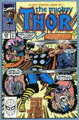 Thor #415 1990 Origin Retold Marvel Comics