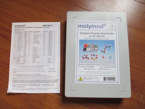 molymod Inorganic/Organic Chem Set MMS-009 **EXTRA PIECES!**