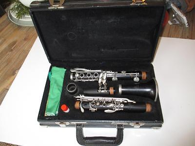 Leblanc Normandy 4 Wood Clarinet Made in France W/ B45 Vandoren Mouthpiece