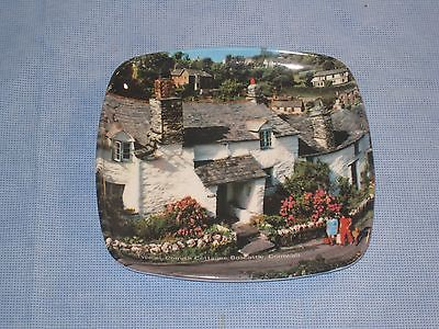 Collectible Ashtray Typical Cornish Cottage Boscastle Cornwall