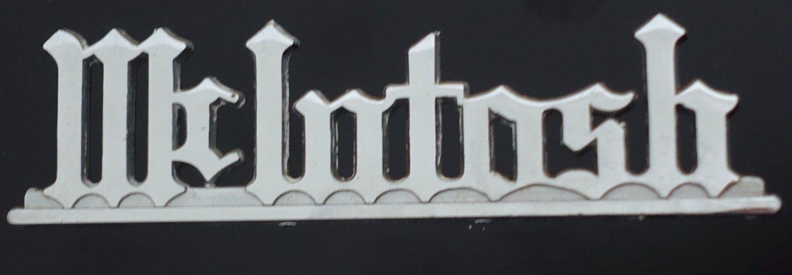 mcintosh logo for sale classifieds