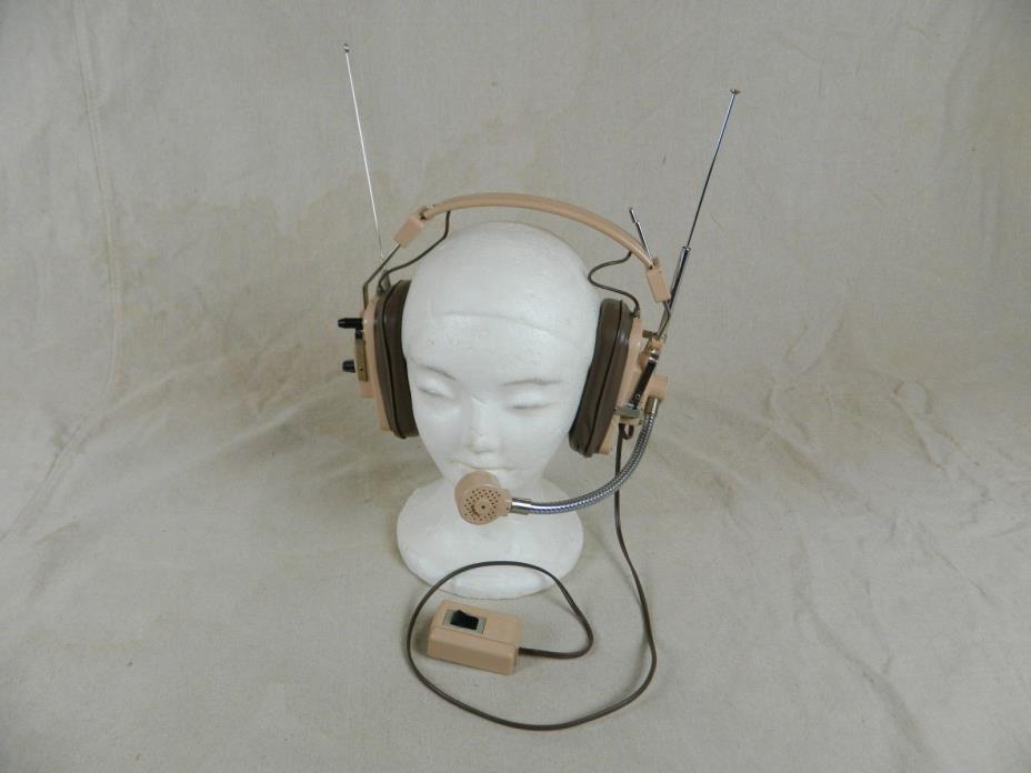 Vintage TR-50 FM Wireless Intercom Television Studio Headset B11