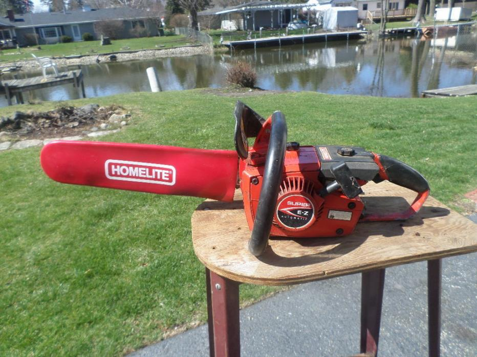 Homelite Chainsaw Carb - For Sale Classifieds
