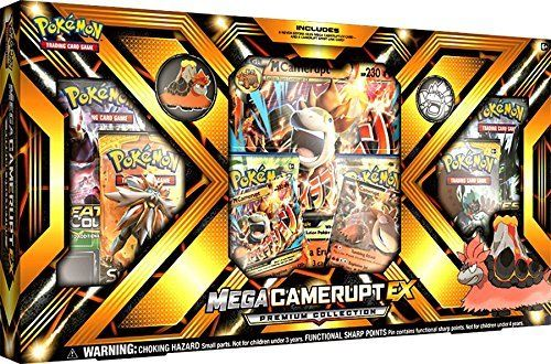 Pokemon TCG Mega CAMERUPT EX Premium Collection Trading Card Game