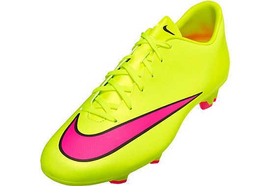 NEW Nike Mercurial Victory V FG Men's Soccer Cleats 651632-760  Sz 7.5