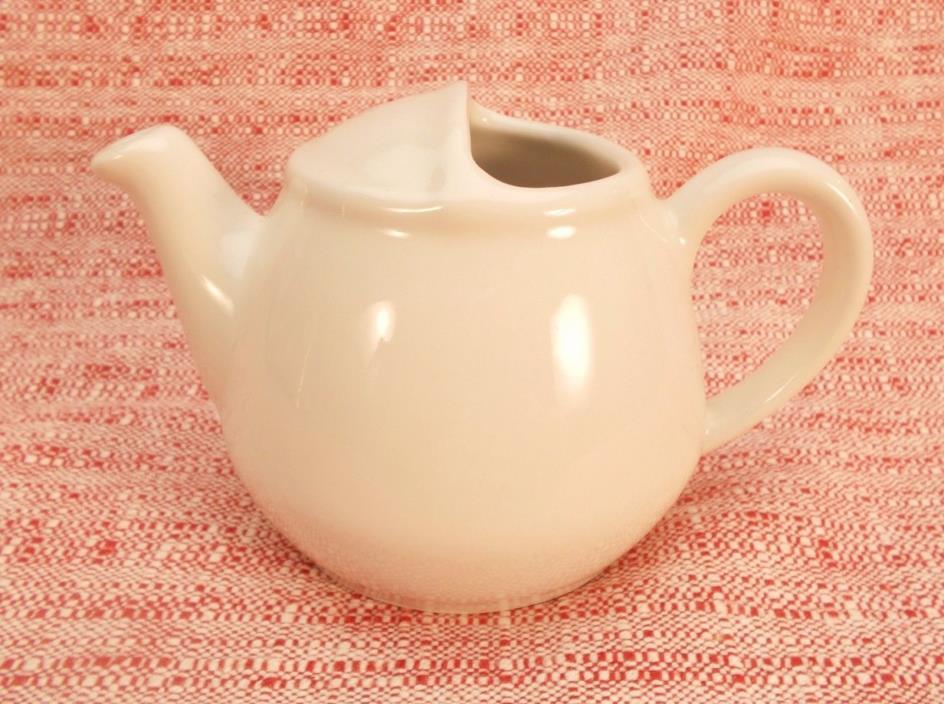 Vintage Hall China #82 Teapot Creamer 16oz  White