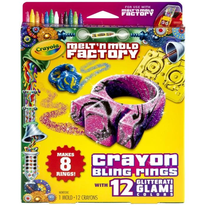 Crayola crayon maker mold for sale classifieds for Metal craft rings walmart