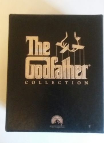 The Godfather 6 VHS Tape Collection Parts 1, 2 And 3
