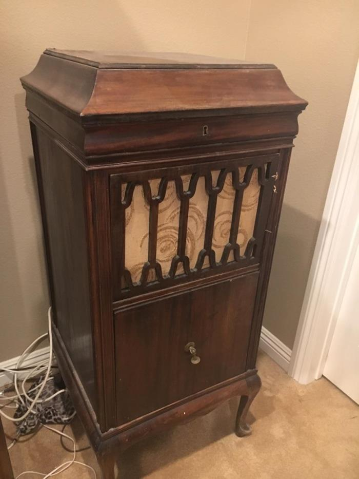 Antique Record Cabinet For Sale Classifieds