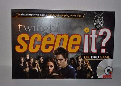 TWILIGHT SCENE IT THE DVD BOARD GAME Complete Ages 13+ Free Shipping!