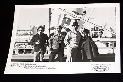 1960's SPANKY AND OUR GANG Band In Front Of Boat Vintage 5x7 Mercury Press Photo
