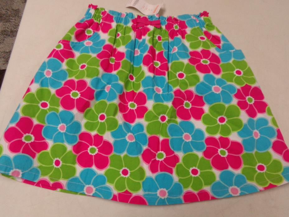NWT GYMBOREE ICE CREAM SWEETIE BRIGHT FLORAL SKORT  GIRLS  SZ   12