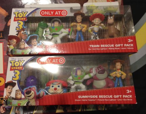 DISNEY PIXAR TOY STORY 3 SUNNYSIDE RESCUE GIFT PACK**TARGET EXCLUSIVE** Plus!
