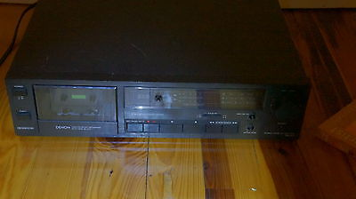 Denon DR-M10 Stereo Cassette Deck  Tape Player  Fully Tested