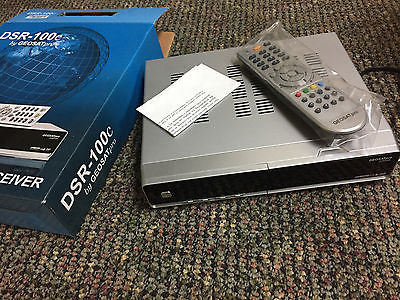 GEOSATPRO: DIGITAL SATELLITE RECEIVER DSR-100C W REMOTE NEW