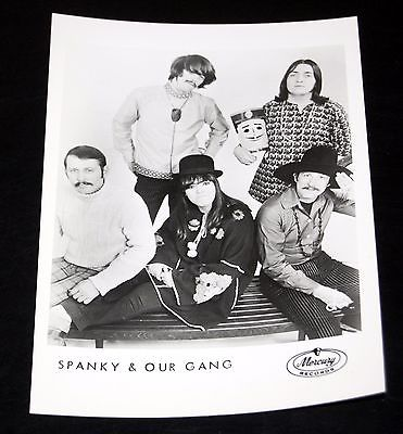 1960's SPANKY AND OUR GANG Group Band Pose Vintage 5x7 Mercury Press Photo