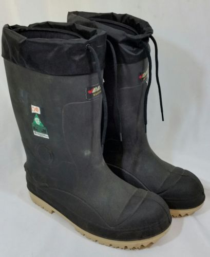 Size 13 Pac Winter Boots, Men's, Black, Steel Toe, Baffin Heavy Insulated