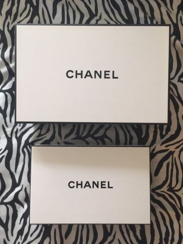Chanel Set Of 2 Gift Keepsake Boxes