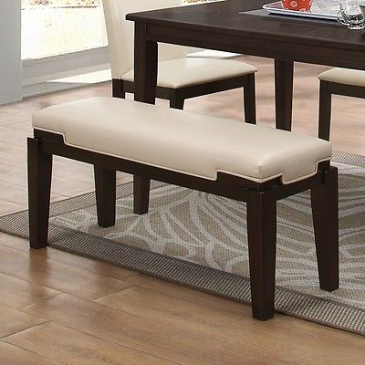 Latitude Run Preston Upholstered Dining Bench