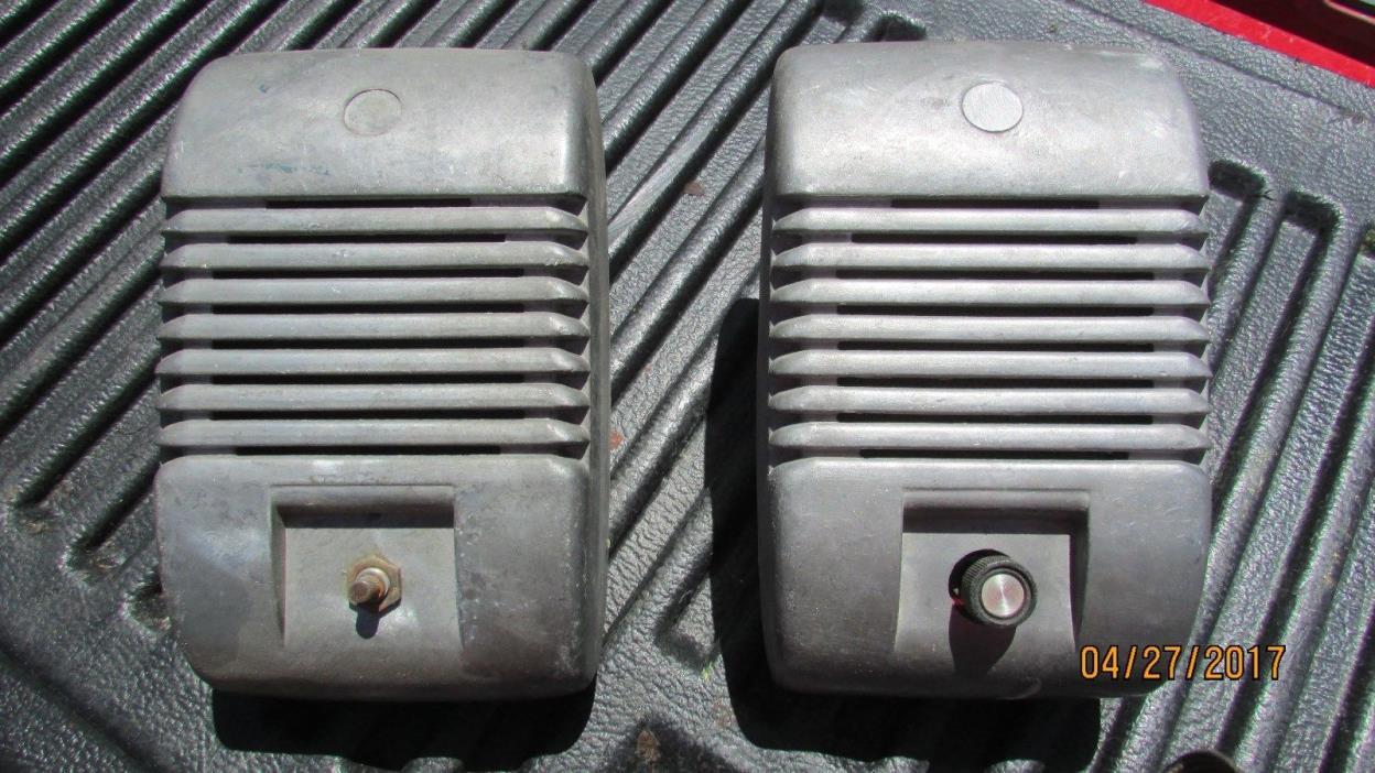 Vintage Drive In Speakers