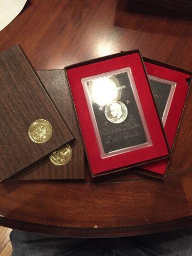 1973-S Eisenhower Dollar 40% Silver Brown Box