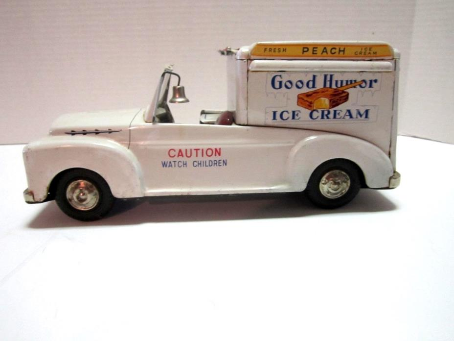1950's VINTAGE TIN GOOD HUMOR TRUCK 11