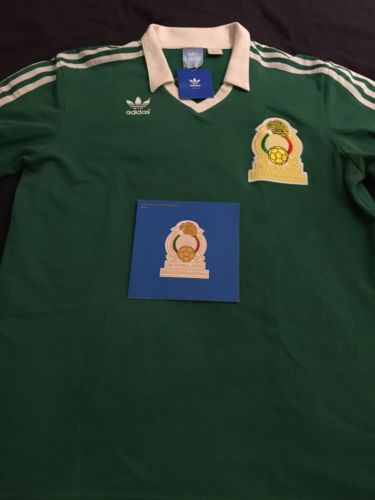 mexico retro jersey 86'World Cup