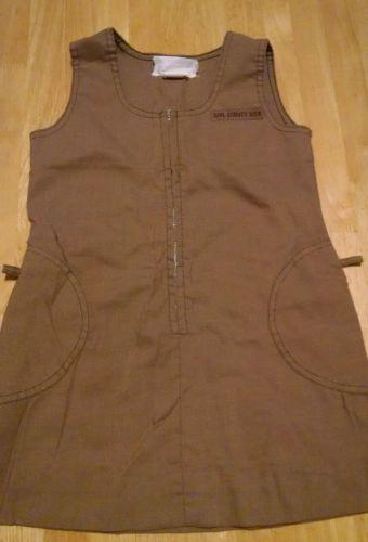 Vintage girl scout brownies dress uniform 80s 7