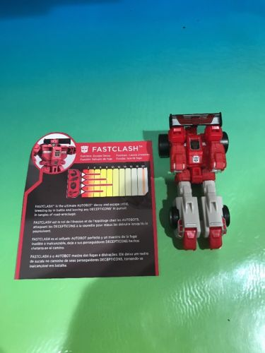 Transformers Titans Return Chaos On Velocitron Fastclash Figure Only