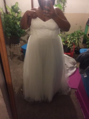 Plus Size Classic Wedding Dress ((22W)