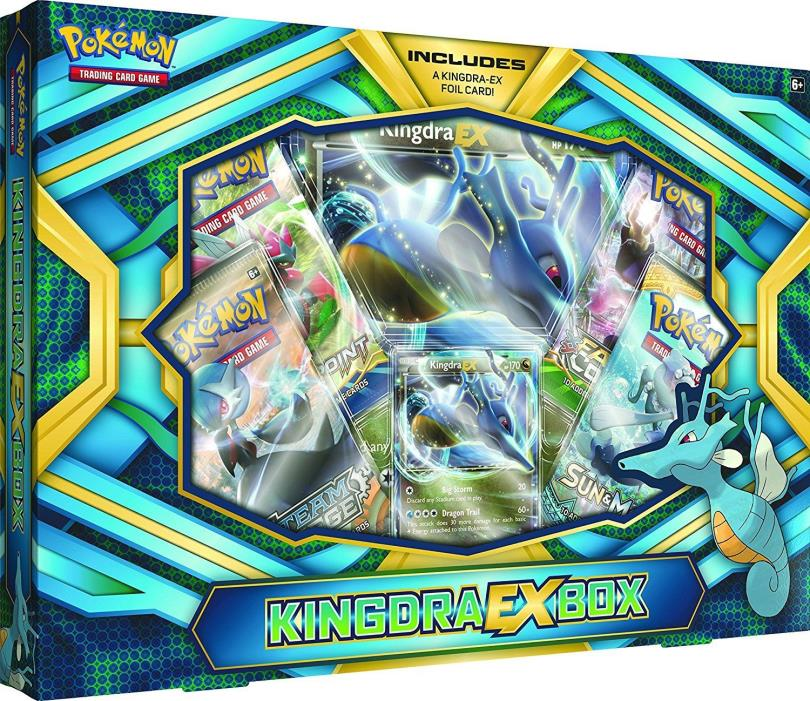 Pokemon TCG Kingdra Ex Box Collection Trading Card Game