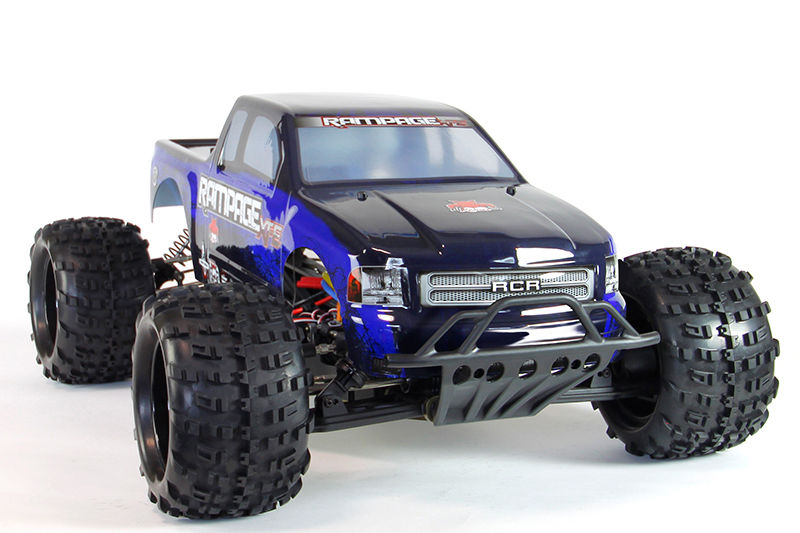 Redcat Racing RAMPAGE XT-E 1/5 SCALE ELECTRIC MONSTER TRUCK BLUE