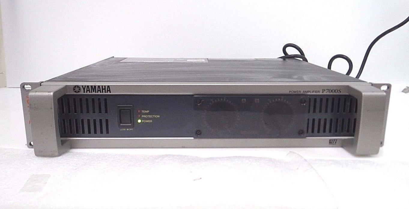 YAMAHA P7000S POWER AMP AMPLIFIER