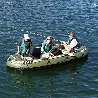 Solstice 31600 Outdoorsman 1200 Up To 6 Person Inflatable Fishing Boat Raft NEW