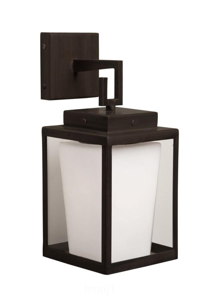Artcraft Lighting SC754 Hyde Park Wall Sconce Light, Dark Bronze