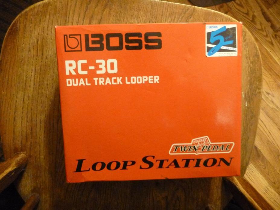 Boss RC-30 Looper Guitar Effect Pedal