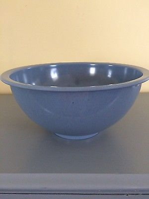 Vintage Texas Ware Cornflower Blue Melamine bowl size 125