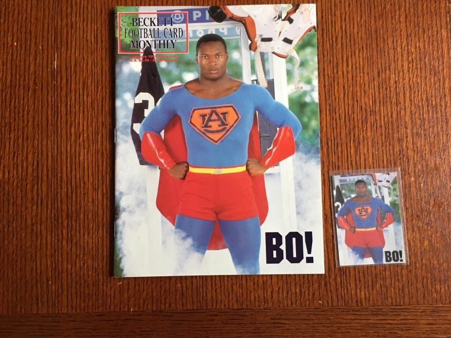 Bo Jackson Beckett Mgazine Superman Edition with Collectable card