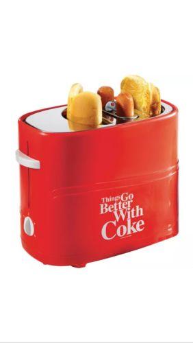 Coke Pop Up Hot Dog Toaster New Nib Coca Cola Retro
