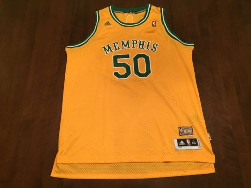 Zach Randolph NBA Memphis Grizzlies Adidas Hardwood Classic Jersey (XXL)