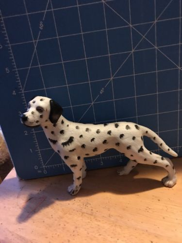 Vintage  Large Dalmation Dog 70s 5 3/4