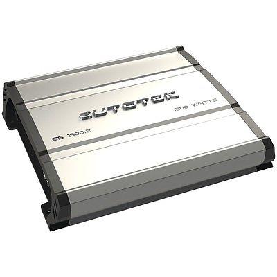 AUTOTEK SS1500.2 SUPER SPORT Series 2-Channel Class AB Amp (1 500 Watts)