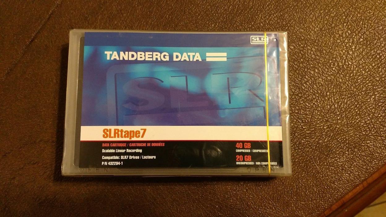 TANDBERG SLR TAPE 7 20GB/40GB P/N432294-1