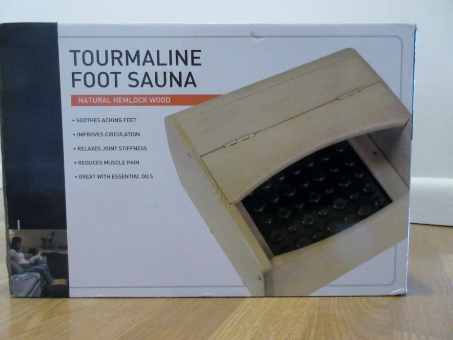 Tourmaline Infrared Foot Sauna MCSN0001US