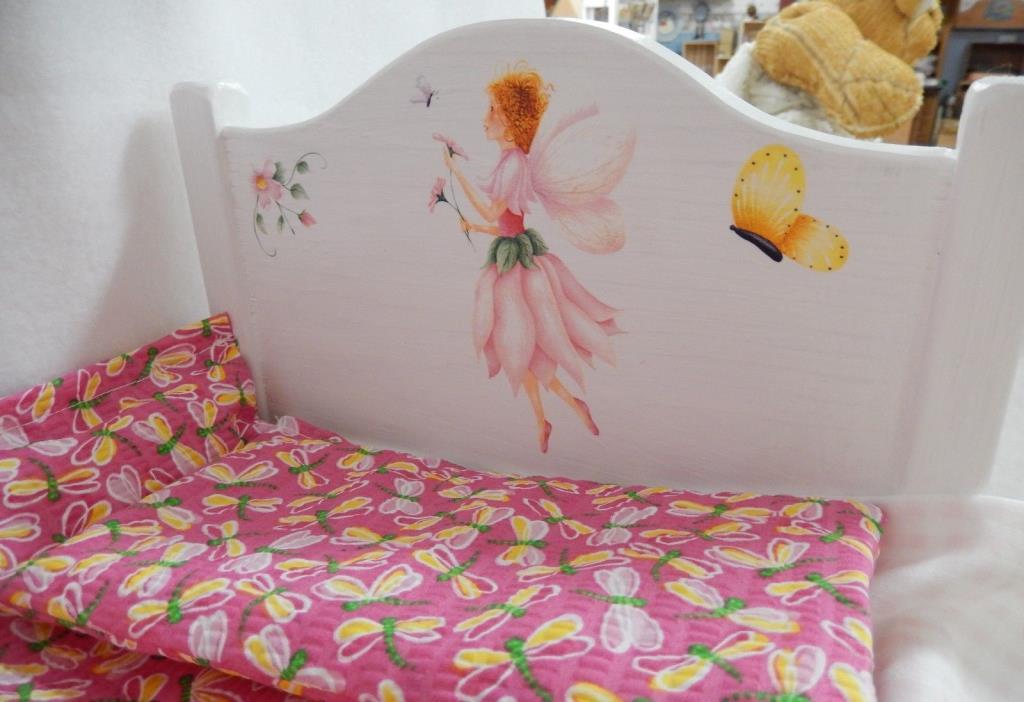 doll furniture set handmade bedding quilt