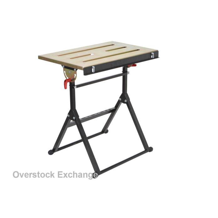 NEW ADJUSTABLE STEEL WELDING WORK TABLE CUTTER GRINDING TABLE MIG TIG WELDER