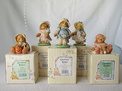 Cherished Teddies - SET of 5: Carrie, Connie, Gail, Hope, Lisa