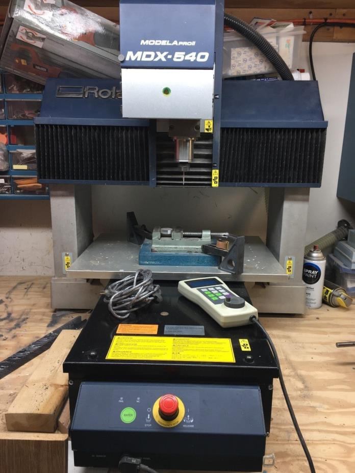 Roland MDX 540 SRP Mill with 4th axis and cover(DEMO UNIT)